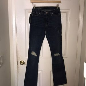 NWT Silver Jeans Skinny Bootcut 27 MSRP $79